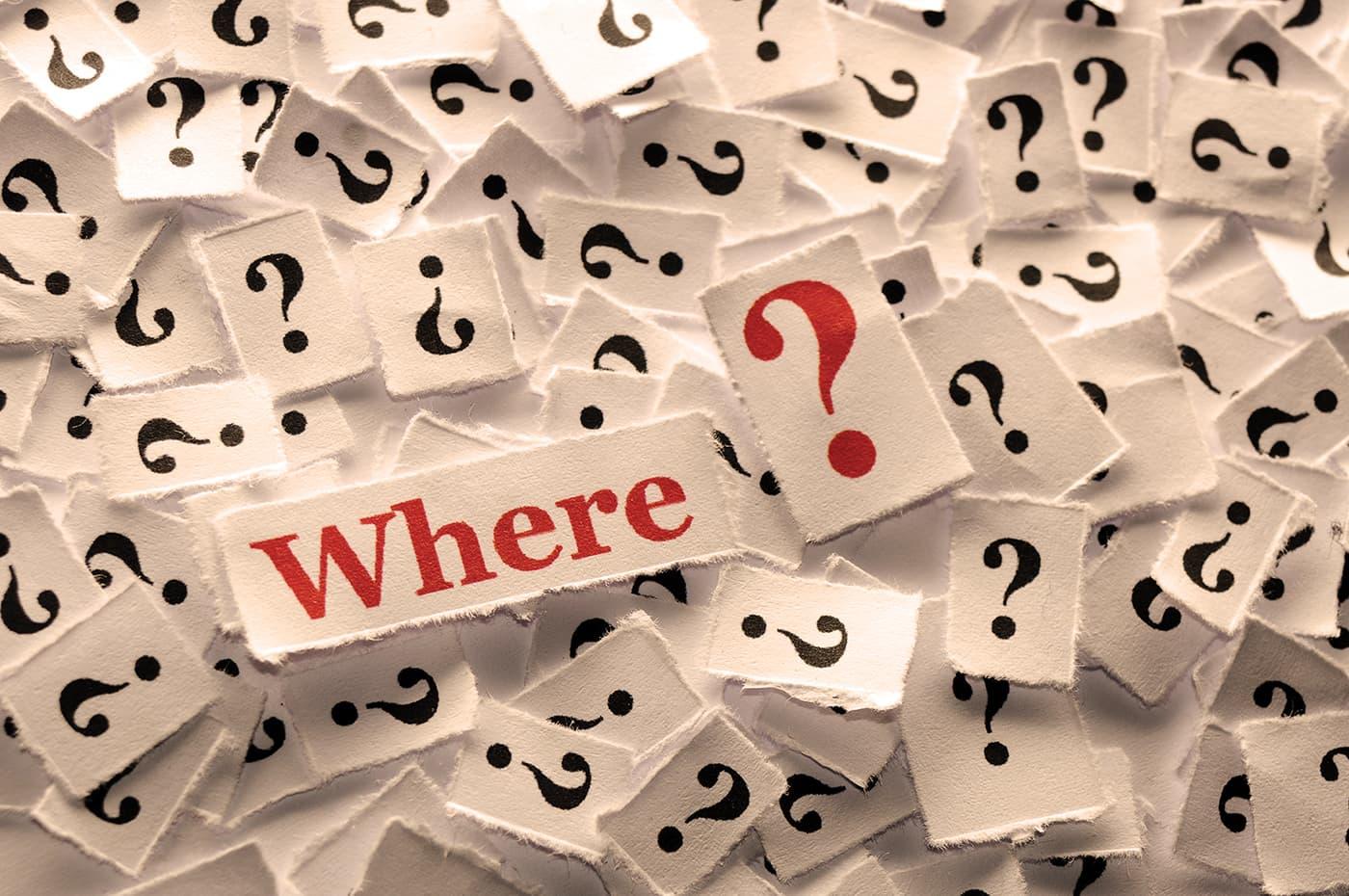 question where